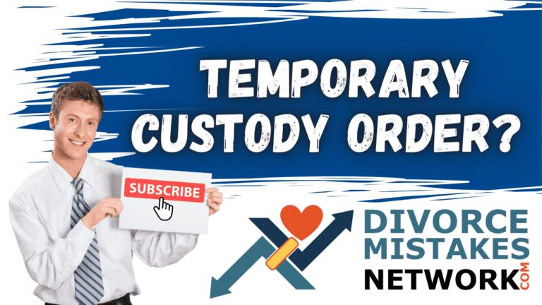 temporary custody order featured image