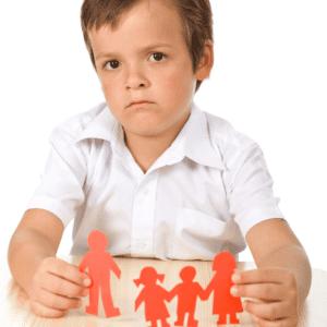 kids during divorce