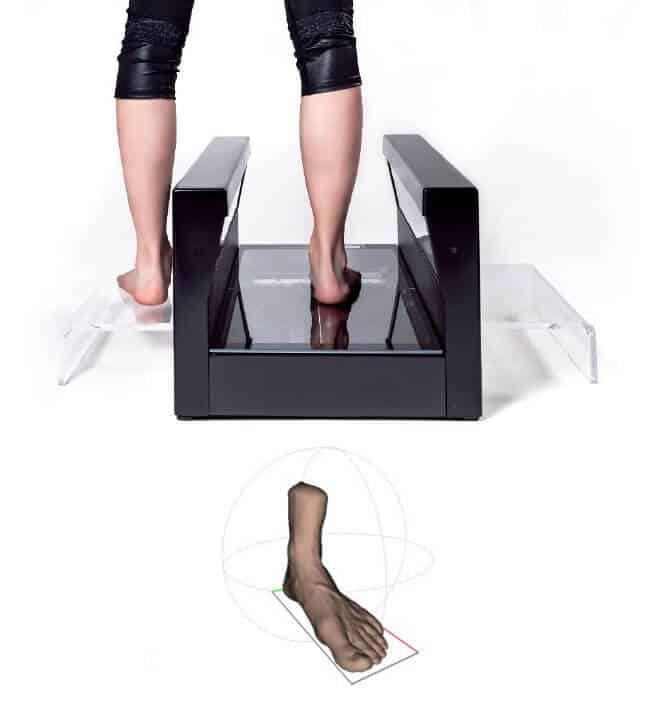 Full foot 3d scanner