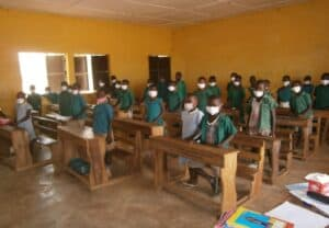 FSL Tamale: A class in Cheshie community in Tamale