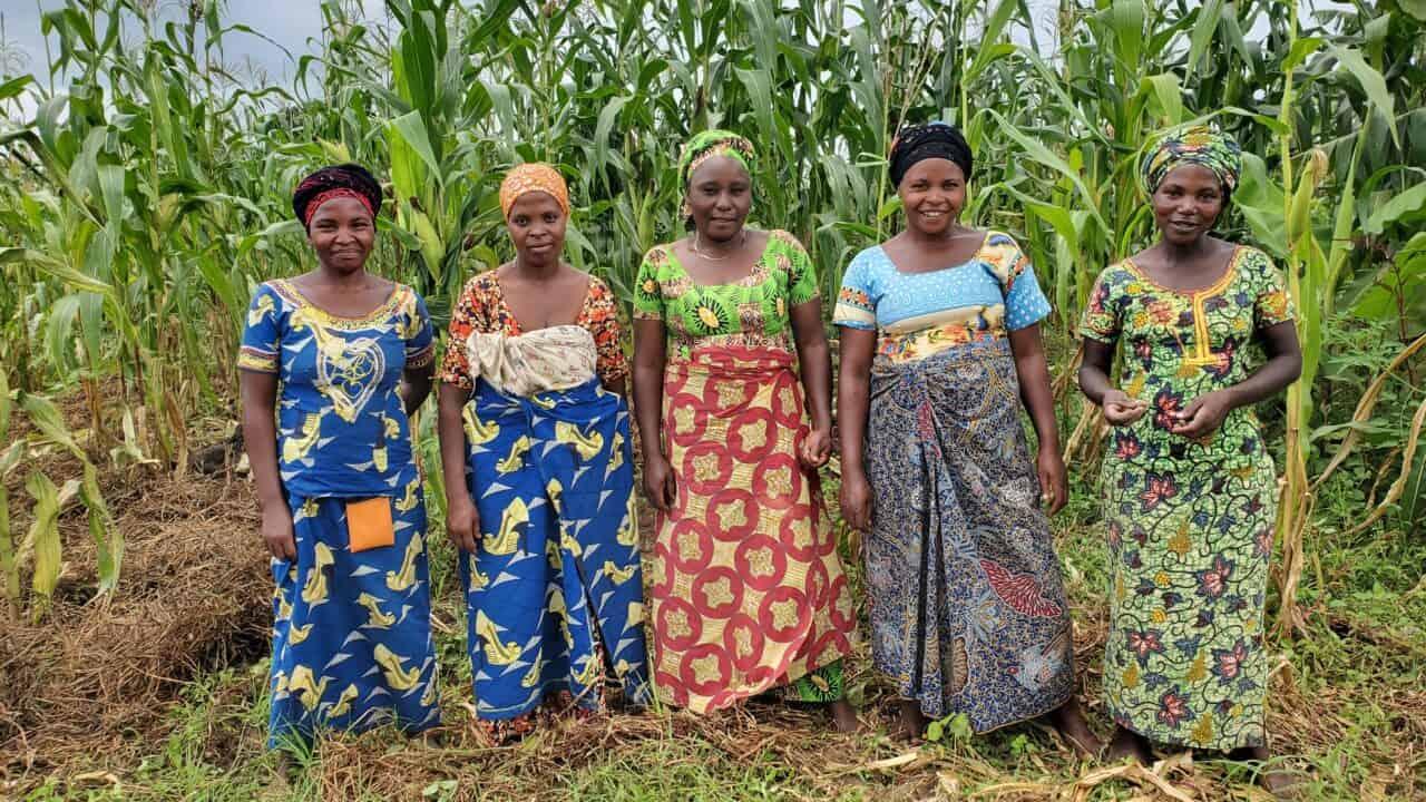 Women of Rwamwanja refugee settlement, photo Sharon Shaba