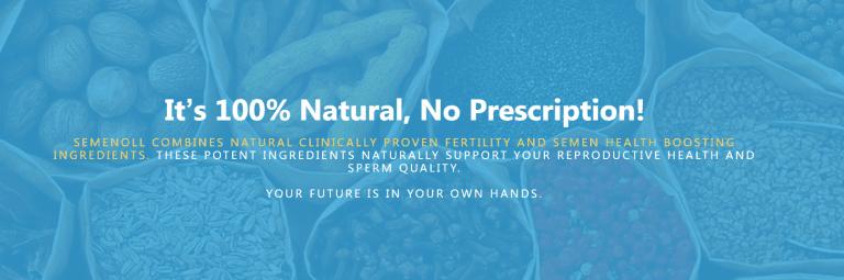 Semenoll 100% Natural No Presciption Required