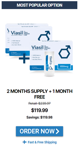 Viasil Most Popular Purchase