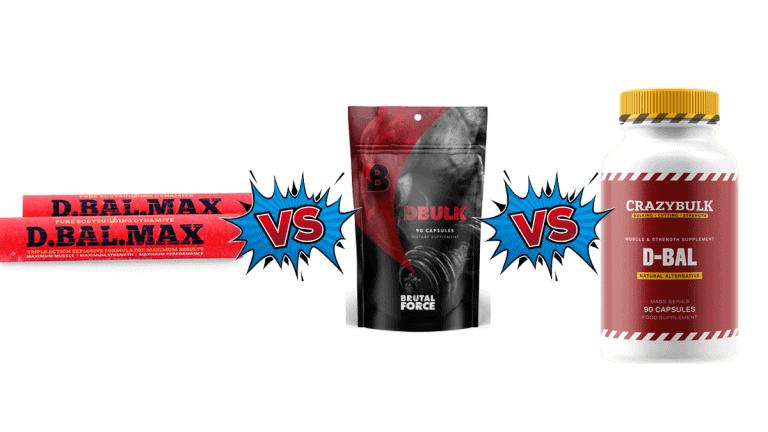D-Bal Max vs DBulk vs D Bal Comparison Guide by ShredFit NY
