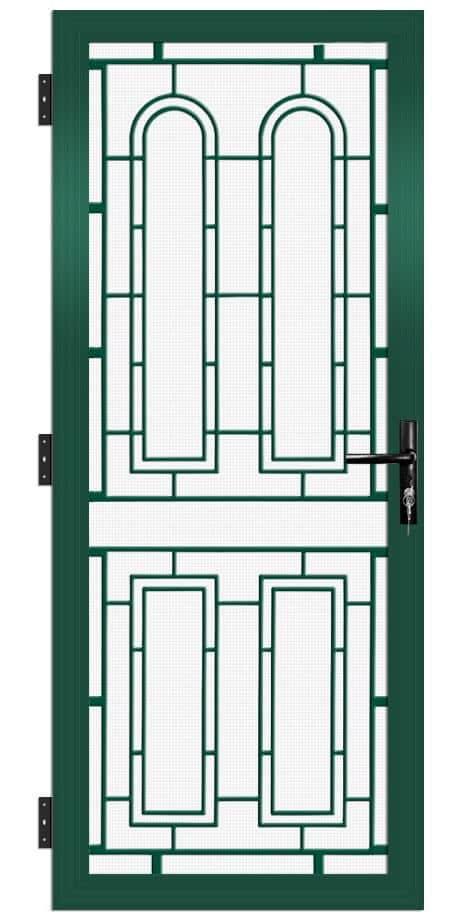 SP51AB Colonial Cast Aluminium Security Door
