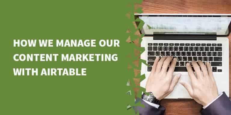 airtable content marketing 768x384 - Airtable Tutorials, Tips & Tricks