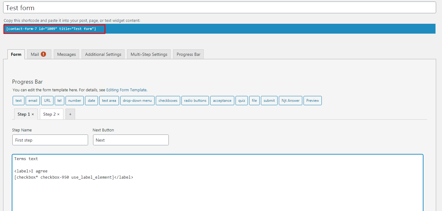 Screenshot 167 - How to add mandatory multistep Terms of use to Memberpress purchase form