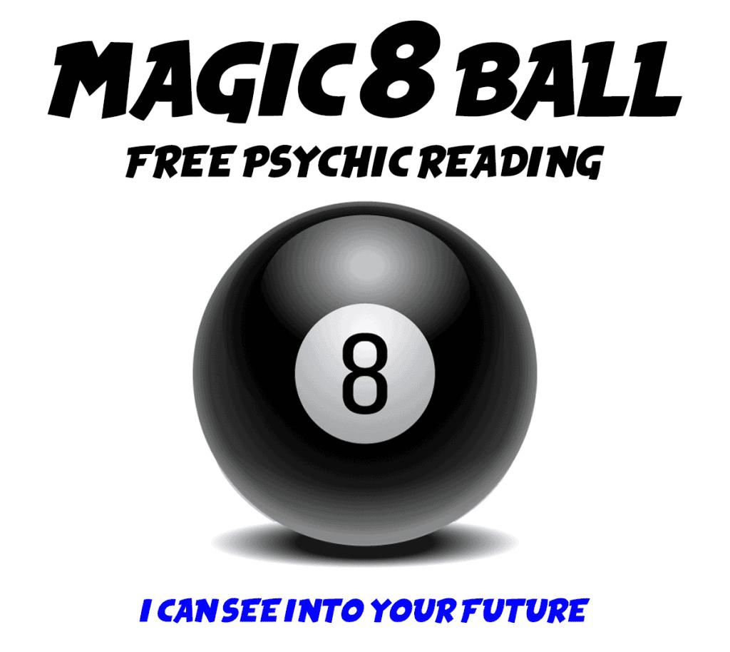 FREE PSYCHIC READING Magic 8 Ball Virtual Scratch-Offs
