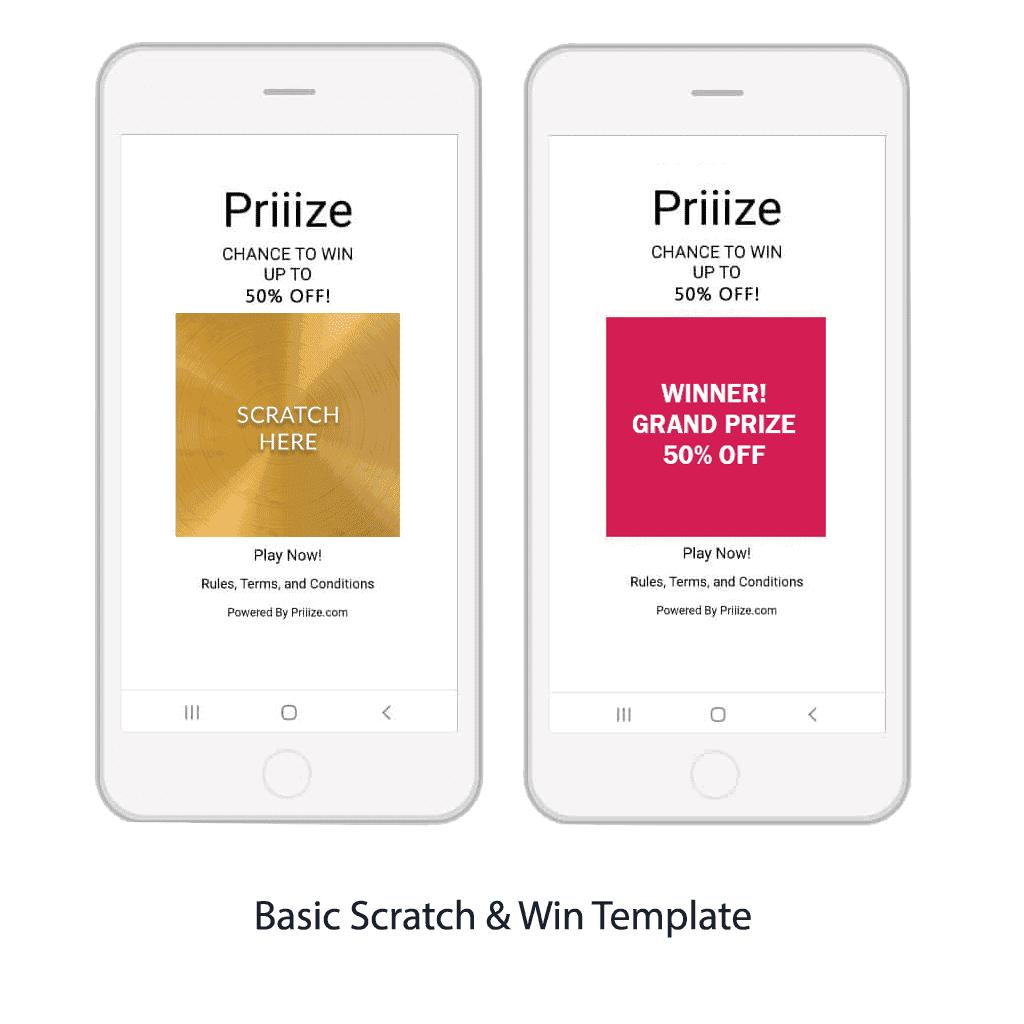 1. Basic Scratch & Win Template
