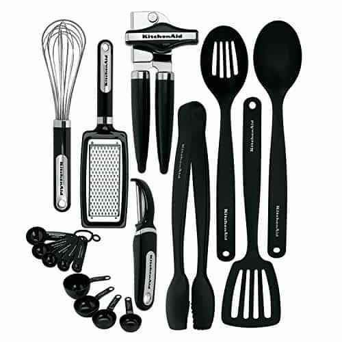 Kitchenaid 17 Piece tool and gadget set
