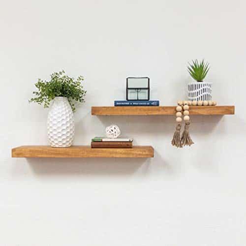 Best floating shelves for living room