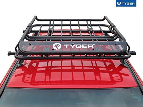 Tyger Auto TG-RK1B902B Roof Mounted Cargo Rack