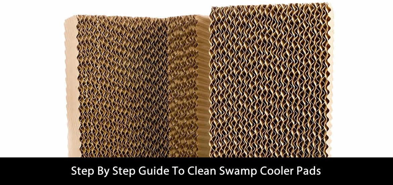 Clean Swamp Cooler Pads