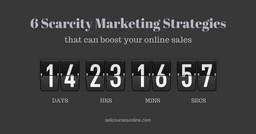 Scarcity Marketing Strategies