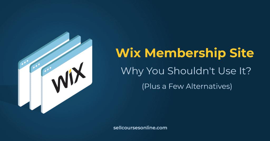 Wix Membership Site