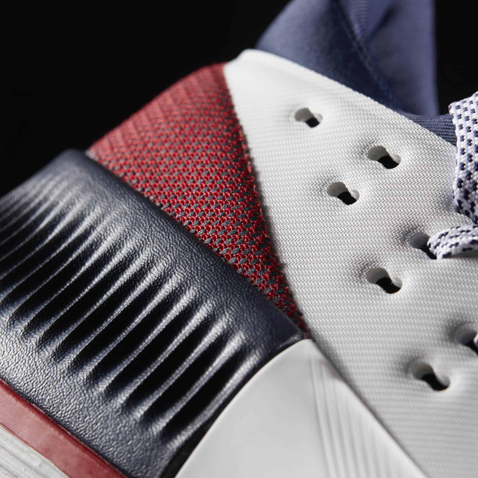 Adidas Dame 3 Review: Heel