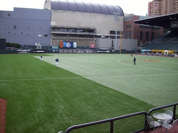 PGE Park in Portland, artificial turf maintenance and MRSA prevention
