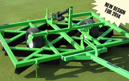 GreensGroomer Improves Performance for 2014