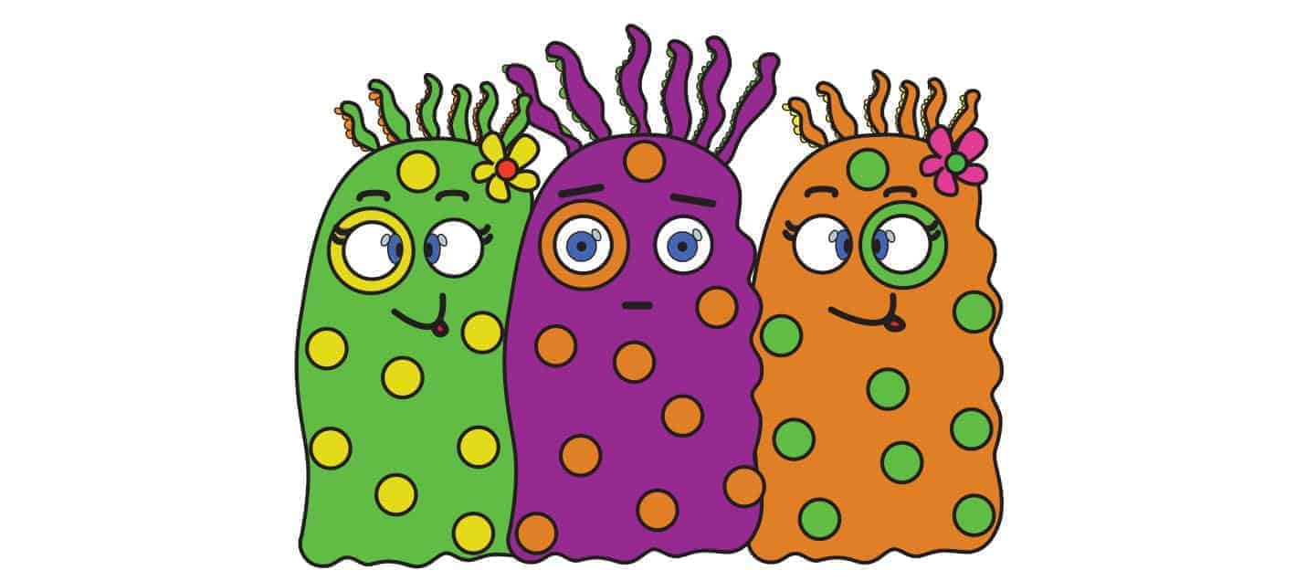 Depiction of Bacterial Pathogens