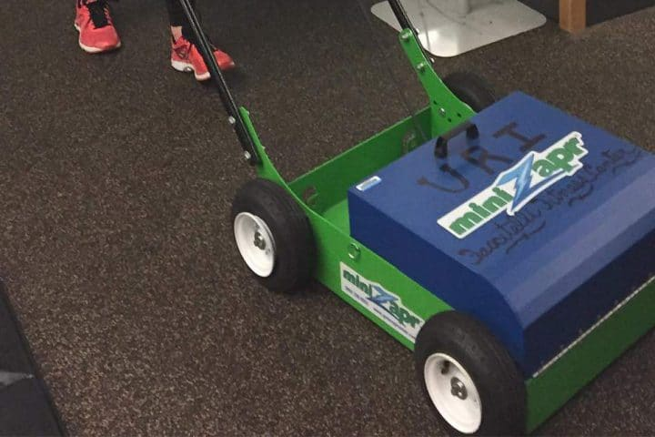 University of Rhode Island uses two 860 MiniZaprs on campus