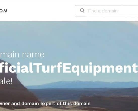 Artificial Turf Equipment Image