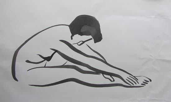 Curso de dibujo de figura humana en Barcelona. Dibujo a tinta