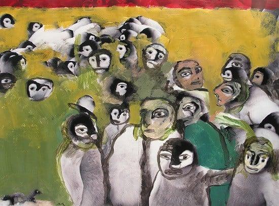 Pintar fotos, clases de arte Barcelona