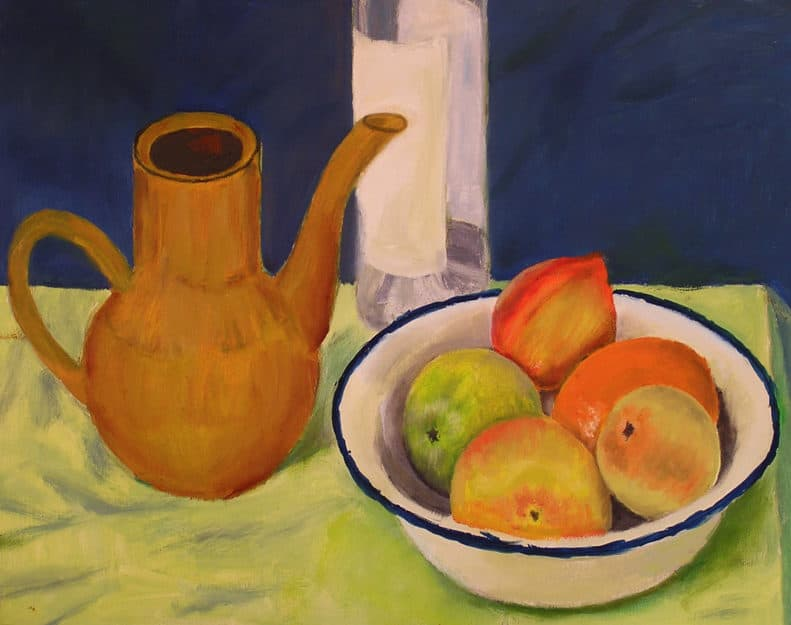 Painting from life, course in Barcelona