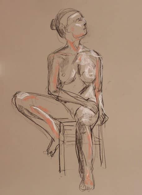 Human figure drawing at Taller 4 Pintors