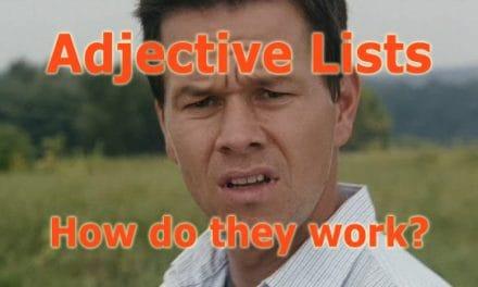 Adjective Order for Better Descriptions