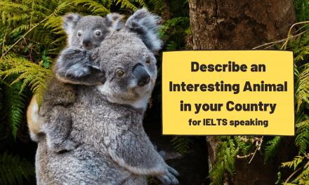 Describe an Interesting Animal in your Country