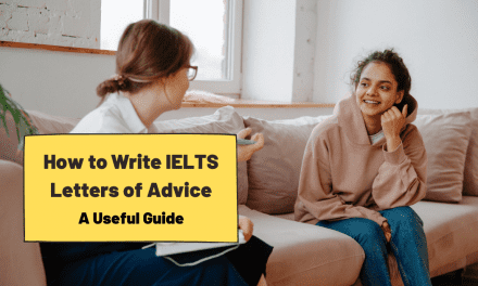 Letter of Advice [IELTS Writing]
