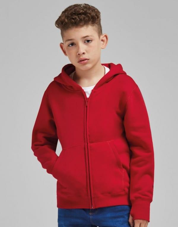 Kids' Full Zip Urban Hoodie