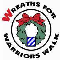 Wreaths for Warriors Walk Logo
