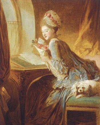 Billet doux Fragonard