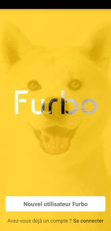 connexion application furbo dog