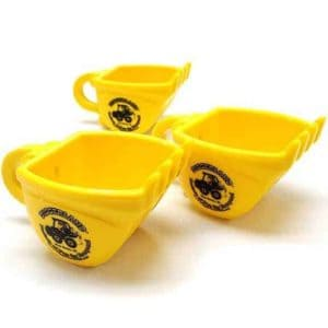 Diggerland yellow coffee mugs three sides