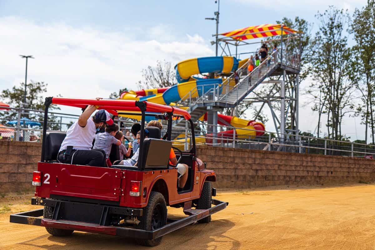 ROXOR from Mahindra family driving
