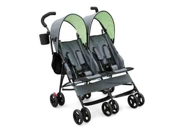 Delta LX side by side tandem stroller