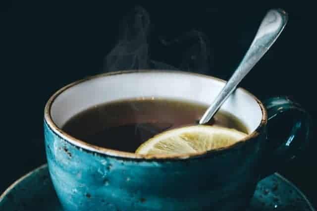 Fertility tea in a cup