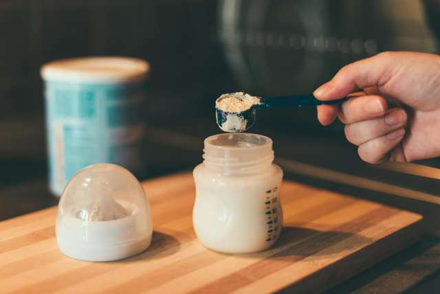 foamy baby formula