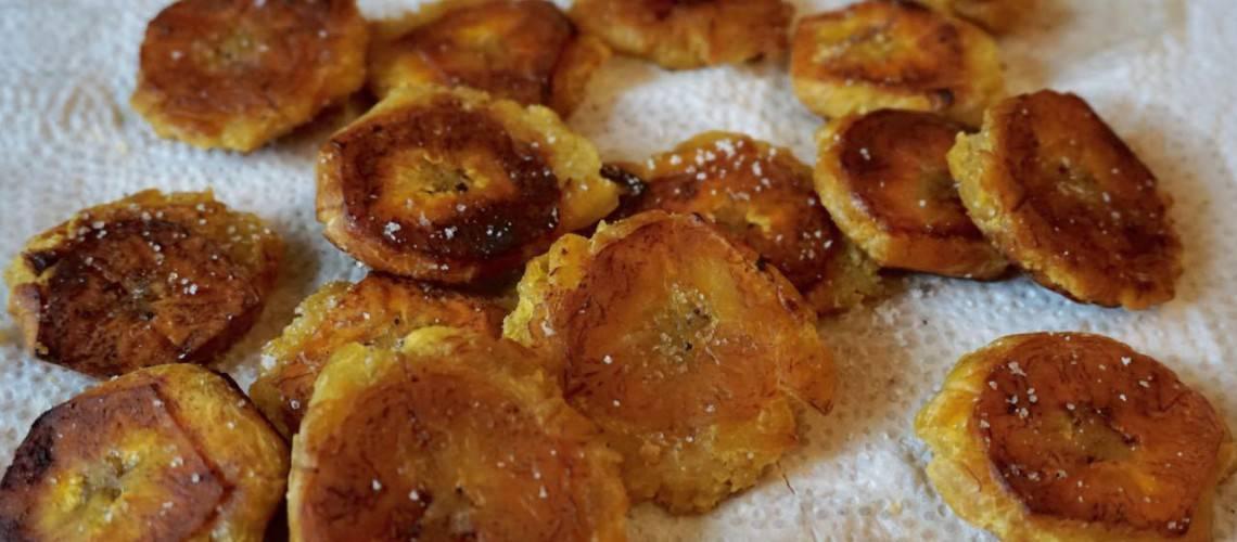 Tostones (stekt matbanan)
