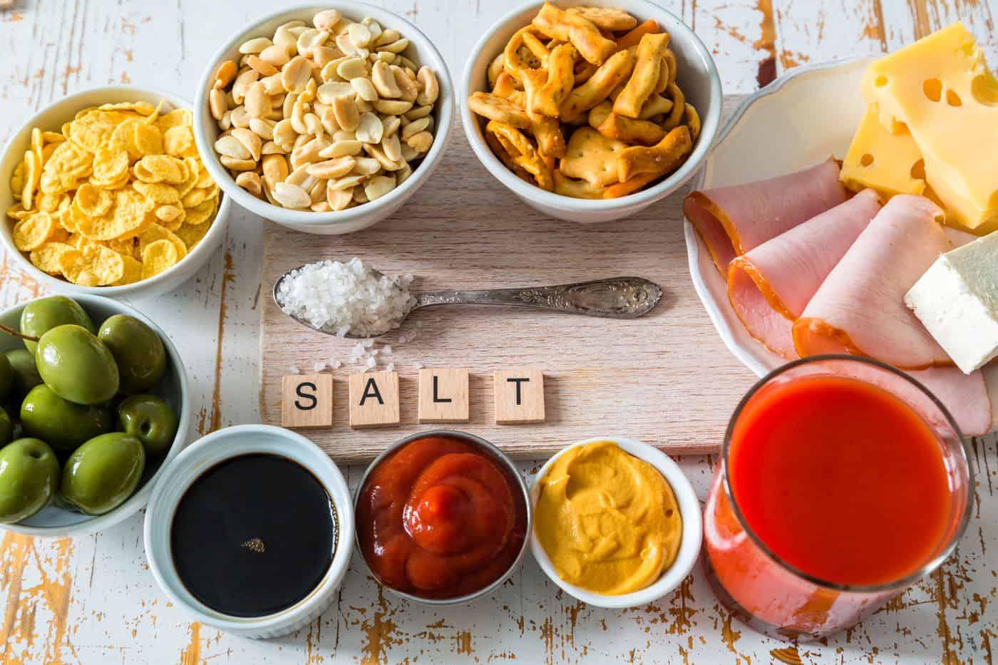 Les aliments qui augmentent la pression artérielle