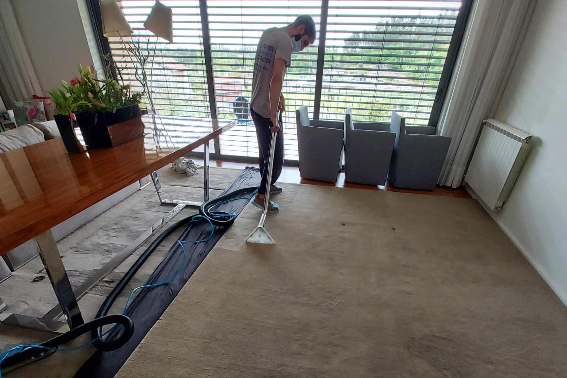 Limpeza de Carpetes Paços de Ferreira