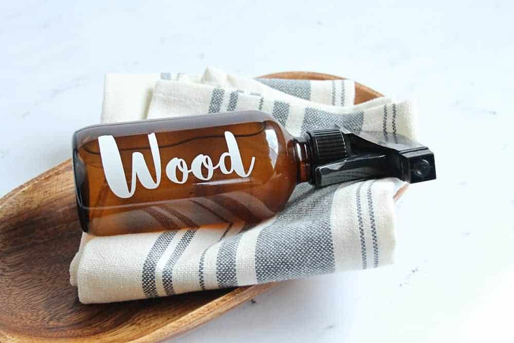 How to make a lemon cedar homemade dust spray and furniture polish you'll never want to be without!