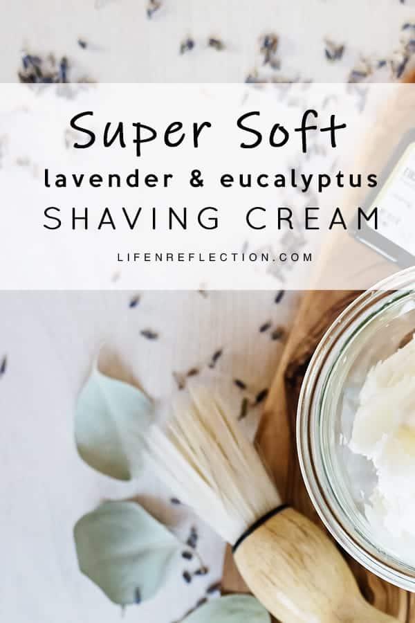 Super Soft Whipped DIY Shaving Cream Made with Essential Oils!!