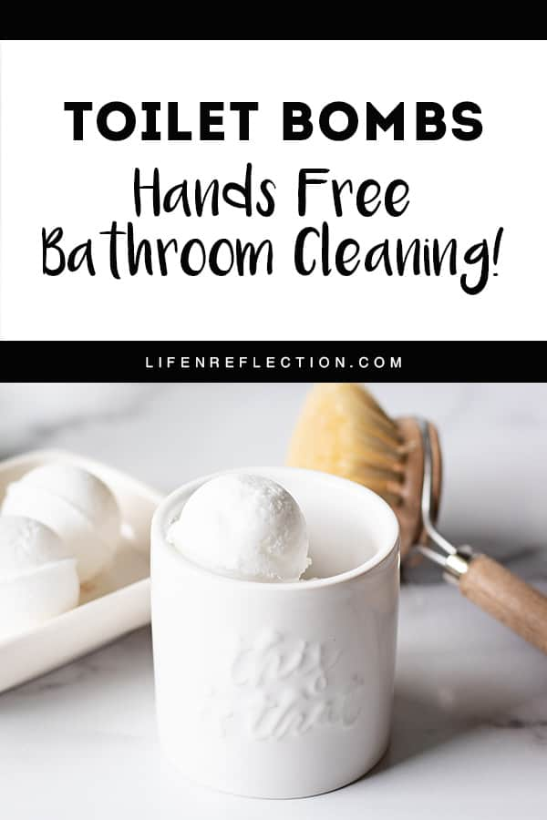 Discover the ultimate lazy toilet bowl cleaner - fizzy toilet bombs! They make the task so easy, it's hands free.