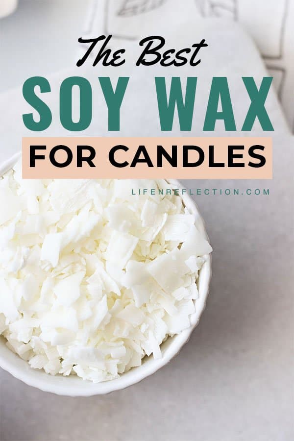 Soy wax is definitely one the best candle wax types in our experience! Here's what we've learn.