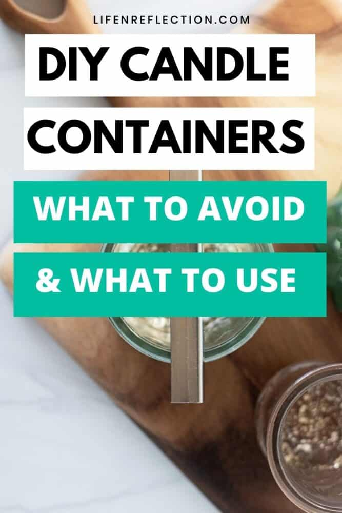 Keep this guide handy the next time you are wondering if a container is safe for candle-making! Here's what to avoid and what to use for DIY candles.
