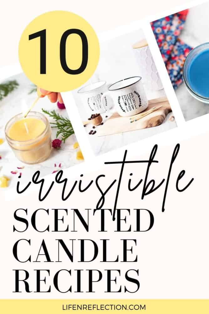 Scented candles are also one of those DIY crafts that have plenty of room for creativity. You can choose the style, color, container, and most notably, the scent. Here are 10 DIY scented candles you can make at home.